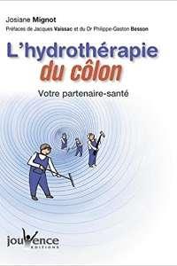 """Couverture du livre """"L'hydrothérapie du côlon : Votre partenaire santé"""" écrit par Josiane Mignot."""