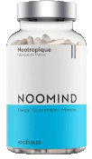 Boîte de gélules nootropiques Noomind.