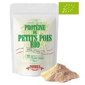 Sac de poudre de protéine de pois bio
