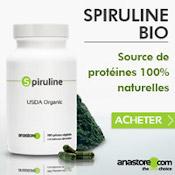 Spiruline bio source de protéines 100 % naturelles